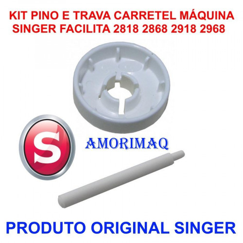 Pino e Trava do Carretel Maquina Singer 2818 2868 2918 2968 Outras